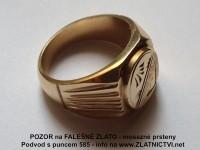 Falesne Zlato Rumunske Zlate Mosazne Prsteny Podvod Zlatnictvi Net