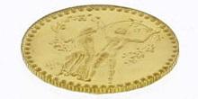Svatební mince Zlatý dukát k svatbě